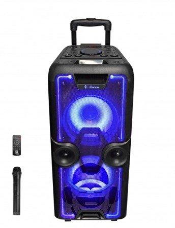 MegaBox 2000 - głośnik Bluetooth 400W + pilot bezprzewodowy oraz mikrofon